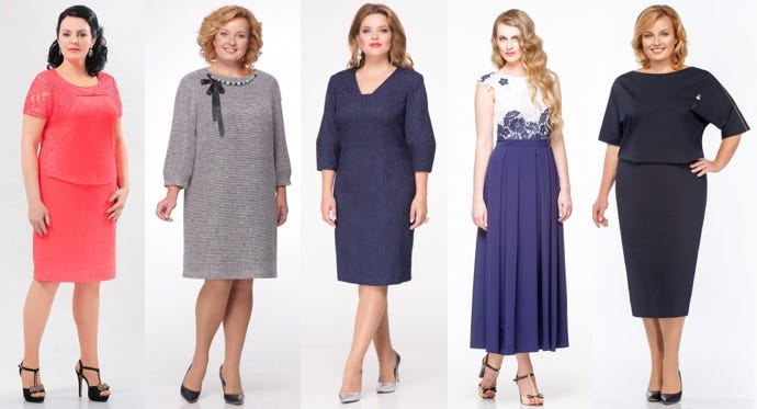 Платья, для женщин после 40-ка лет - калейдоскоп модных тенденций