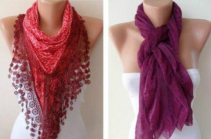 Как правильно носить женский шарф: несколько подсказок
