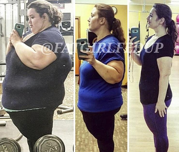 Простая, но вдохновенная история похудения с четверти тонны до 80 кг