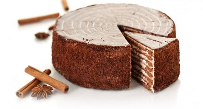 Простой рецепт шикарного торта «Спартак»