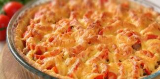 Рецепт мясного пирога с картофельным тестом