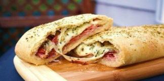 Стромболи — сочная пицца-рулет