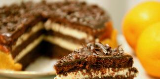 """Вкусный шоколадный торт """"Фантастика"""""""