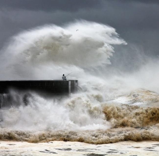 Крутые фото, сделанные за секунду до катастрофы