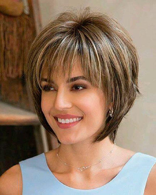Модные стрижки для коротких и средней длины волос