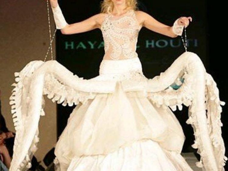 Очень неожиданные платья для невест