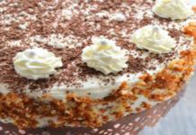 Рецепт кофейного торта с манной крупой