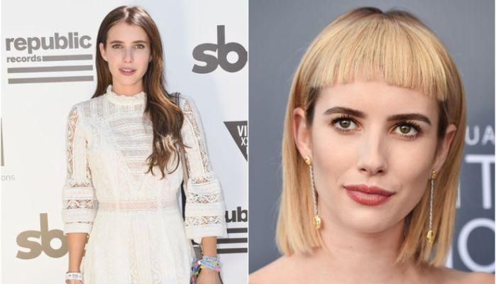С челкой или без: голливудские звезды, которые решили сменить имидж