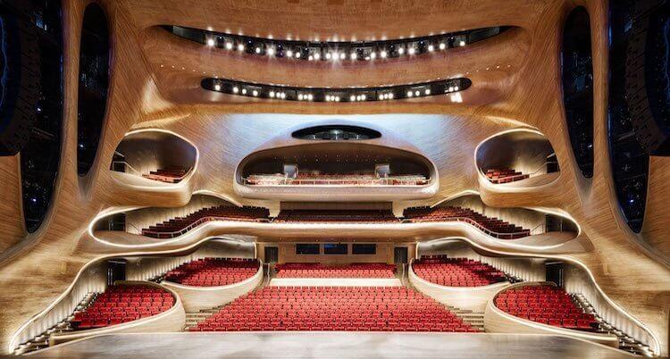 Сaмые красивые оперные театры мира