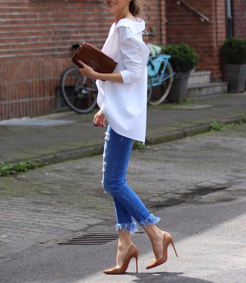 Элегантные идеи правильного сочетания обувь и сумки