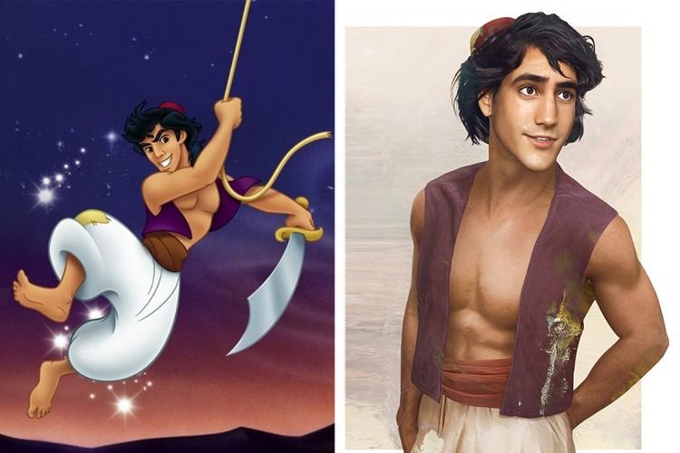 Вот так будут выглядеть герои Диснея, если изобразить их реалистично
