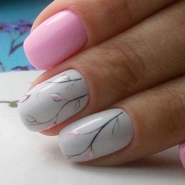 Идеи для маникюра на короткие ногти