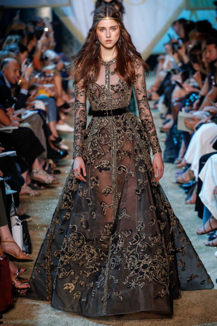 Платья ливанского дизайнера Эли Сааб