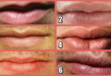 Найдите своего идеального мужчину по губам