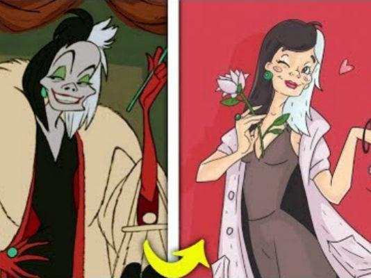 Как выглядели бы злые мультяшные герои, если бы стали добрыми