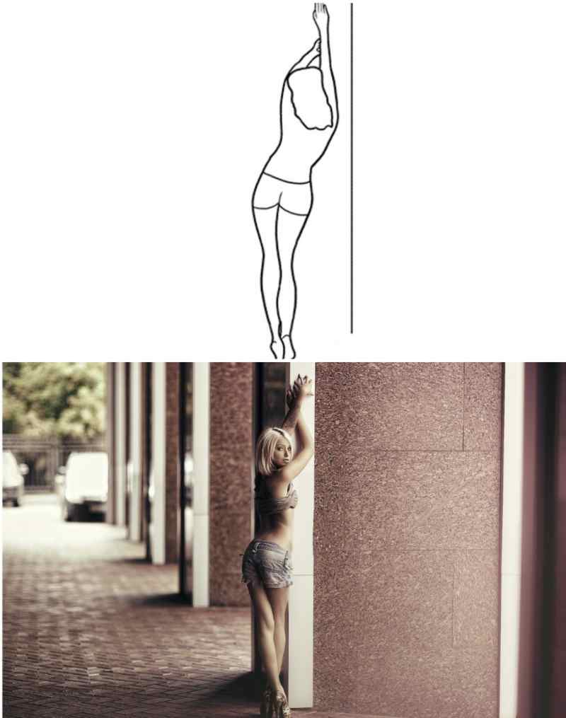 Женские позы для удачных снимков на фотосессии