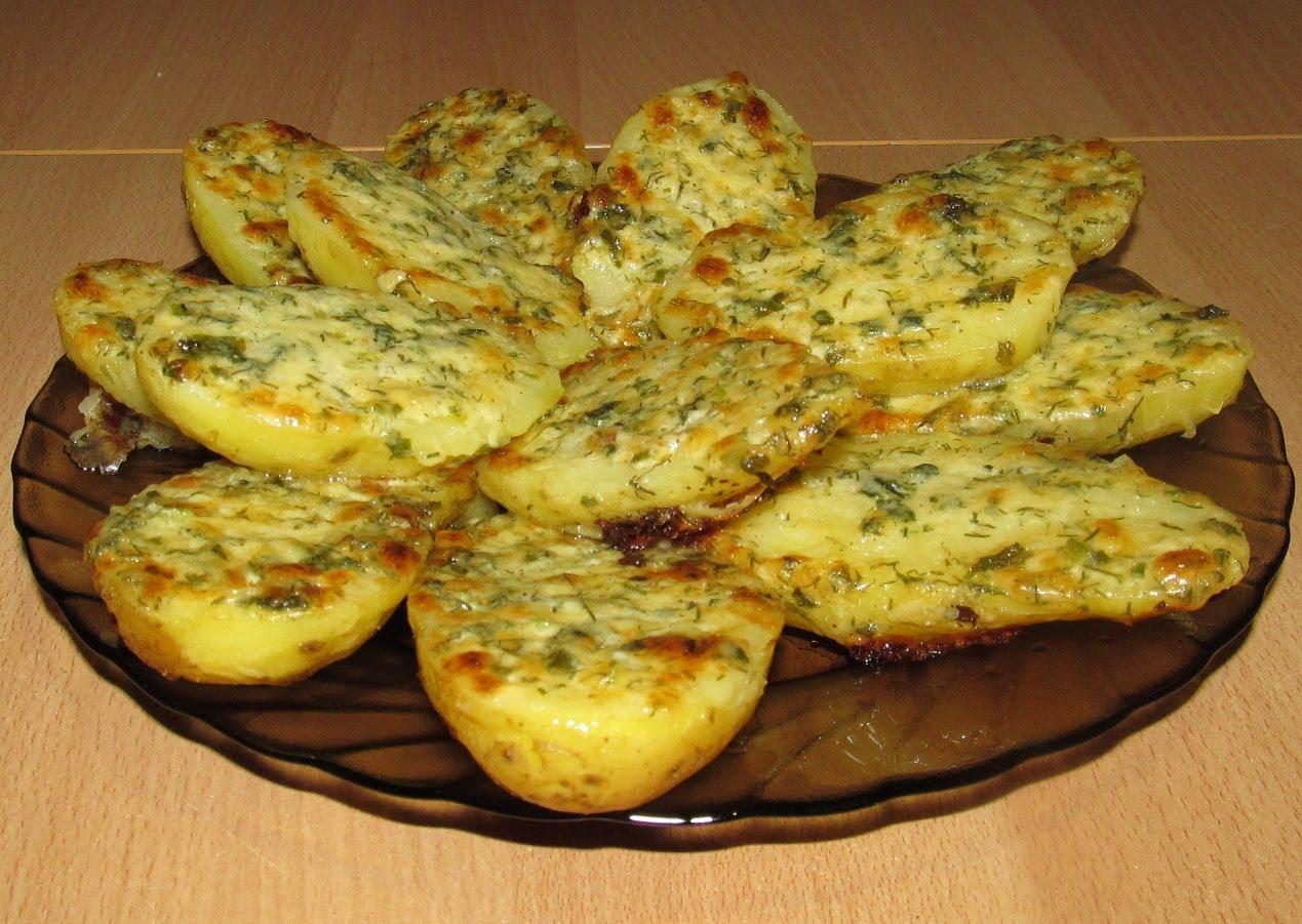 Рецепт вкусного чесночного картофеля