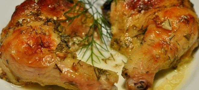Окорочка в духовке с сыром и майонезом
