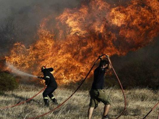 В Греции бушуют лесные пожары. Власти ввели режим чрезвычайного положения и просят помощи ЕС (Видео)