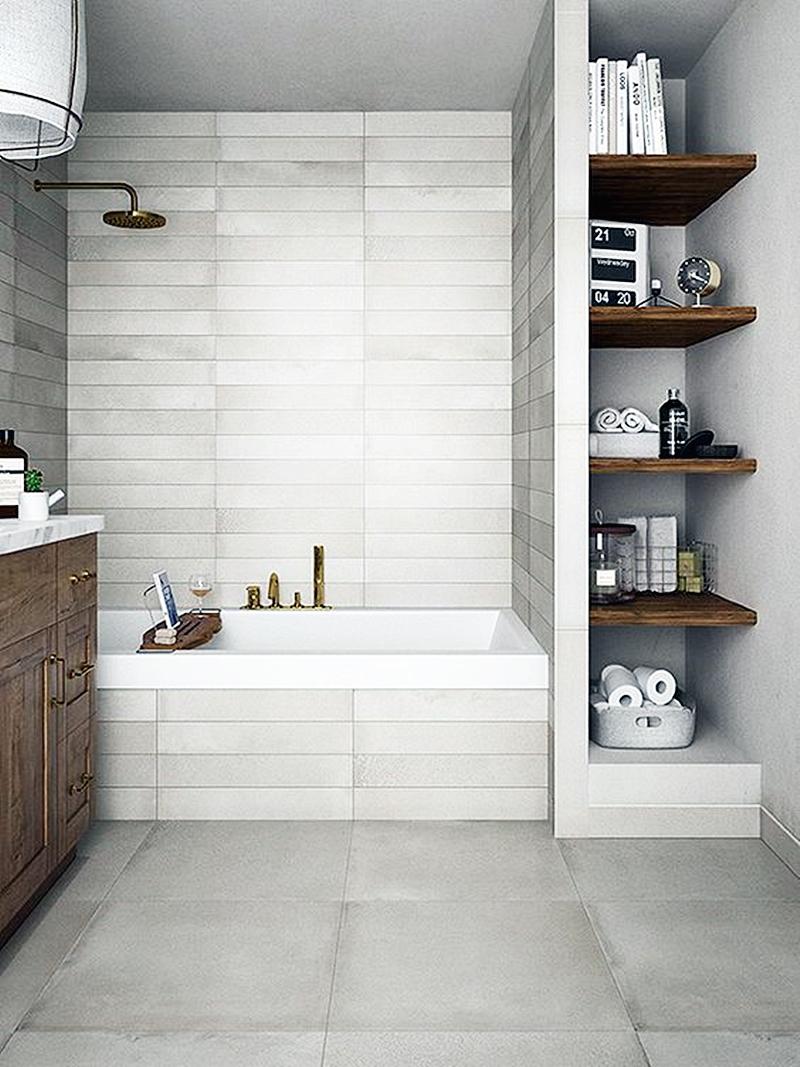 25 компактных решений для крошечной ванной12