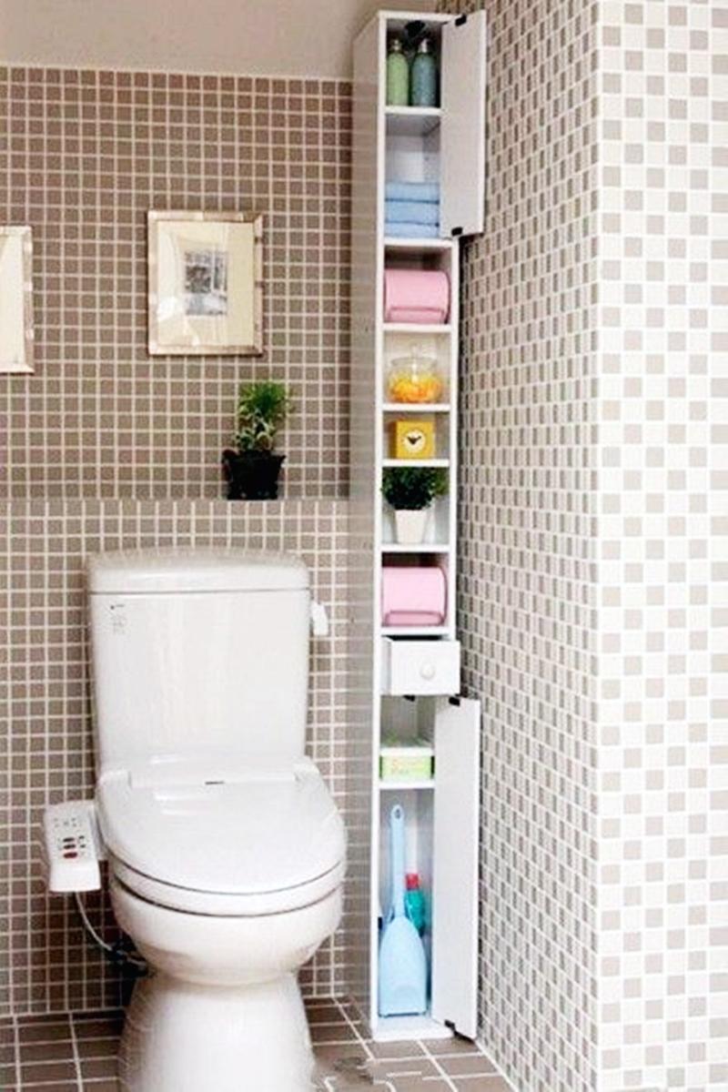 25 компактных решений для крошечной ванной13