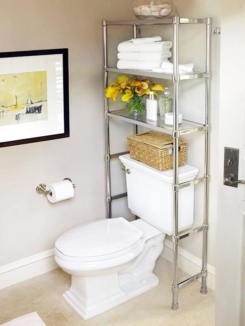 25 компактных решений для крошечной ванной14