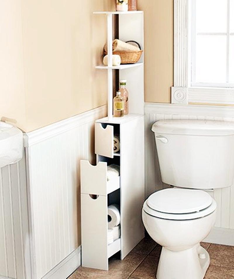 25 компактных решений для крошечной ванной17