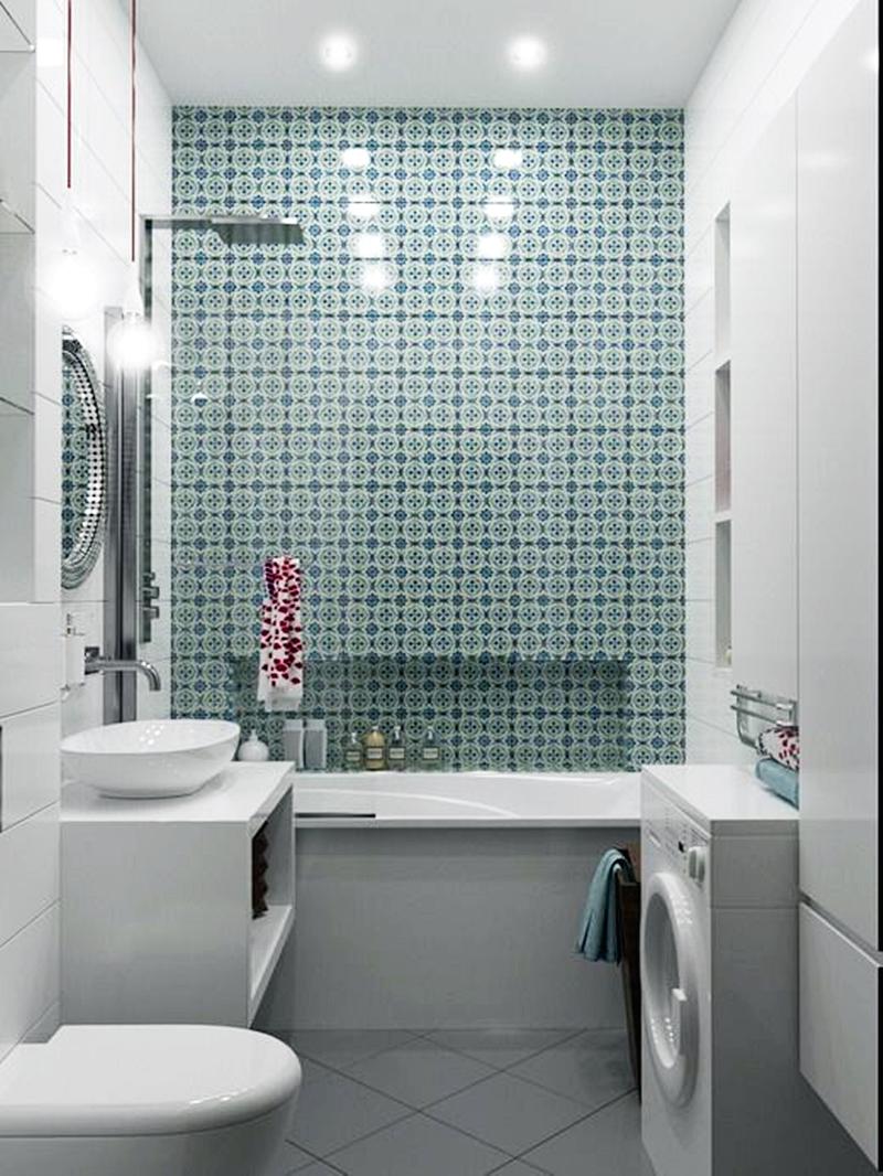 25 компактных решений для крошечной ванной24