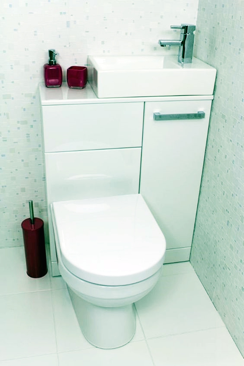 25 компактных решений для крошечной ванной3