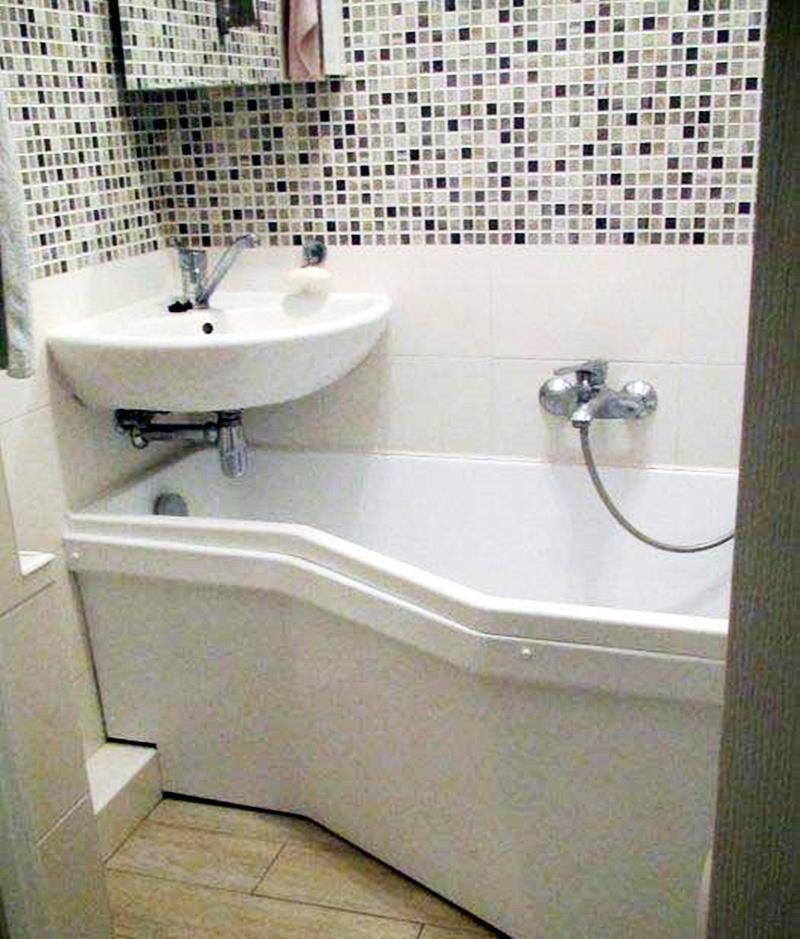 25 компактных решений для крошечной ванной4