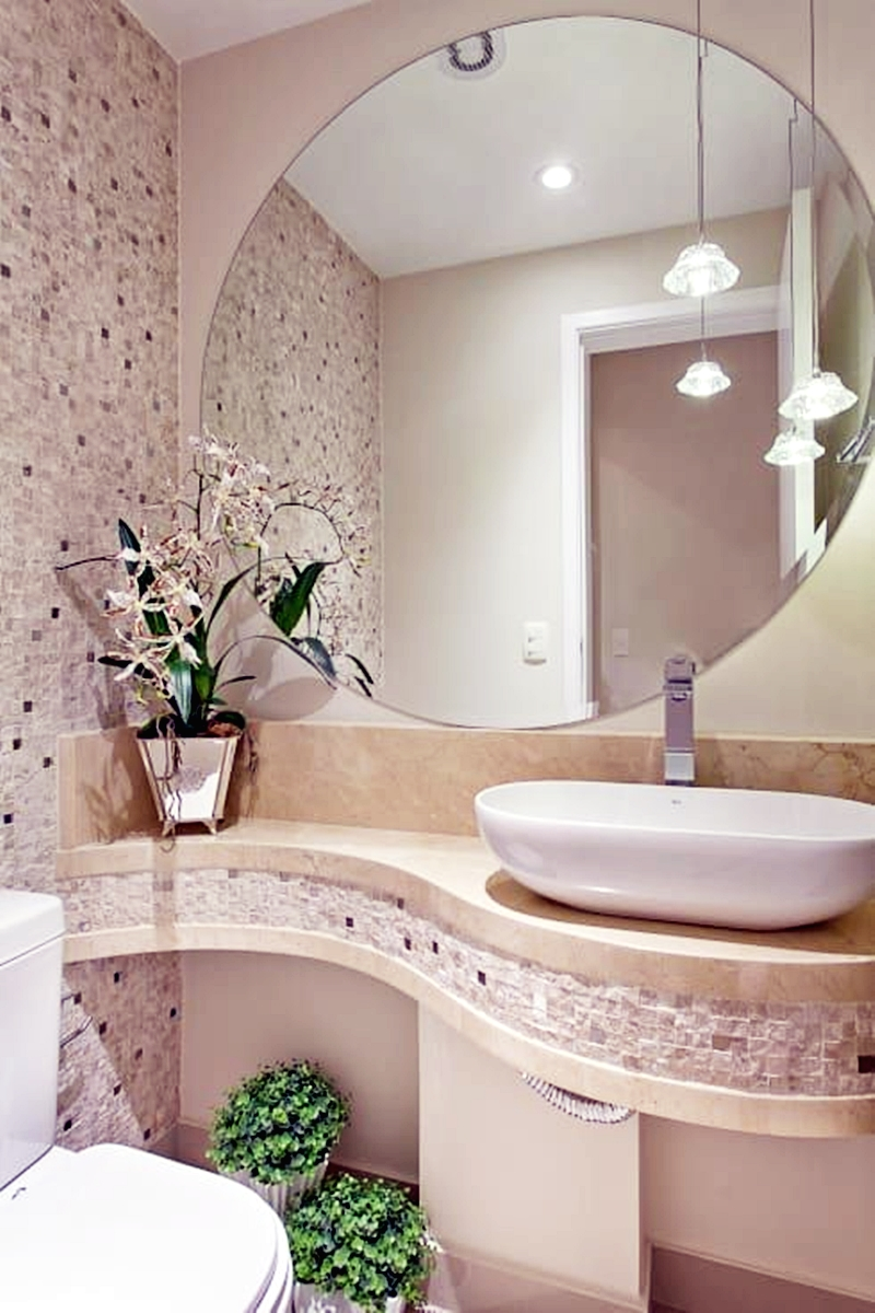 25 компактных решений для крошечной ванной5