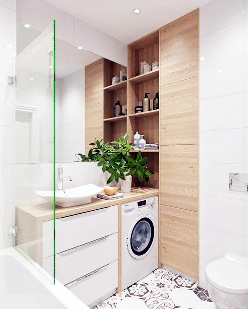 25 компактных решений для крошечной ванной6