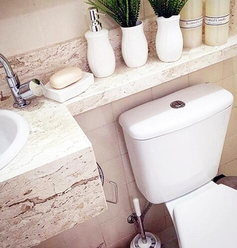 25 компактных решений для крошечной ванной9