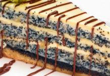 Торт «Королева» с маком