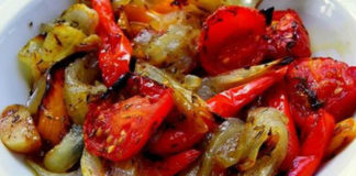 Овощи, запечённые в маринаде: фантастически вкусно