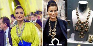 Коллекция Шейхи Мозы, самая стильная и красивая женщина Востока показала свои драгоценности