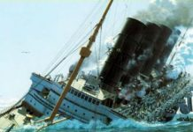 Муж оттолкнул жену, спасаясь с тонущего корабля… Но у него была на это важная причина