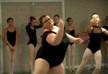Юная балерина разрушила стереотипы о лишнем весе (видео)