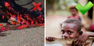 Мажоры давят еду — а детям есть нечего