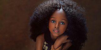 Мир моды все больше покоряется невероятно красивой девочке из Нигерии