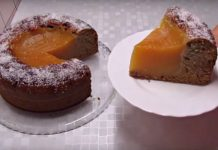 Обалденный постный пирог «Вулкан