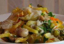 Вкусный постный салат : любимое блюдо не только в пост