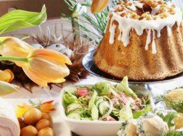 Оформление праздничного стола на Пасху (правила и традиции)