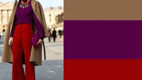 С чем носить красный ? 10 простых и необычных сочетаний