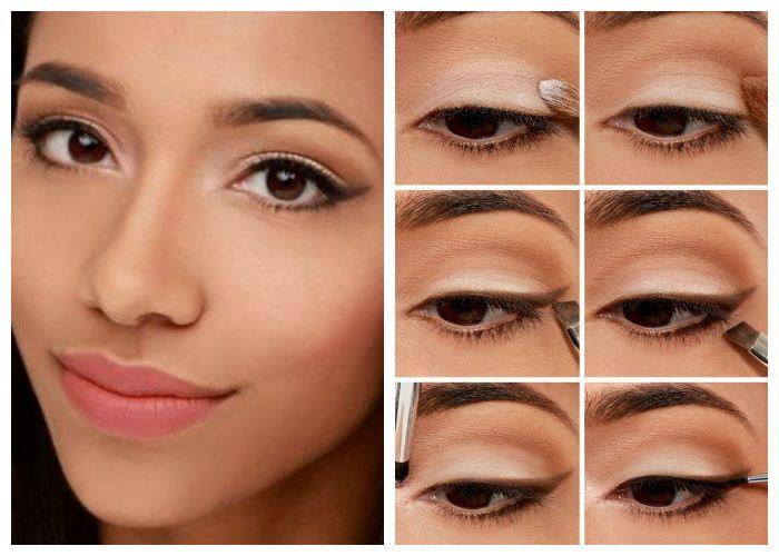 Дневной макияж: фото пошагово