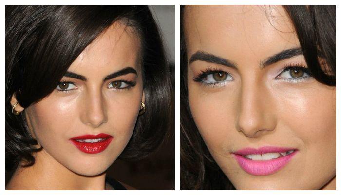 Примеры макияжа глаз с нависшим веком