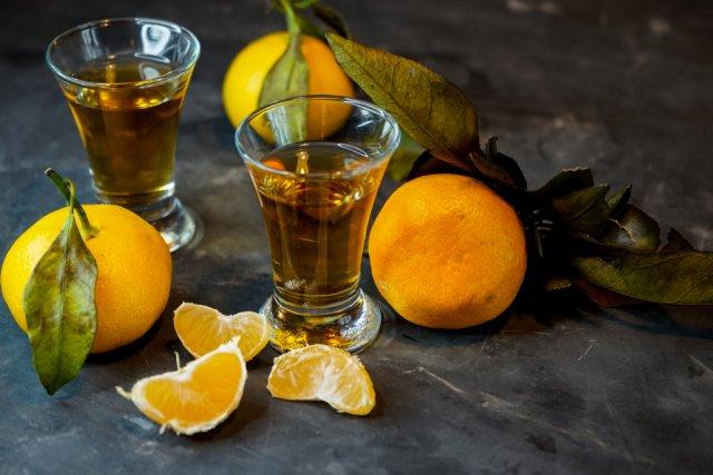 мандариновая настойка