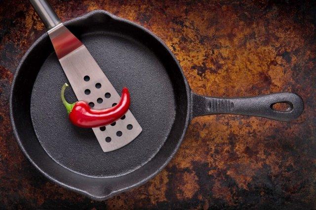 чугунная посуда польза вред